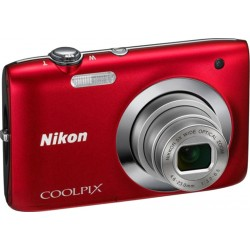 Nikon Coolpix S2750 rouge
