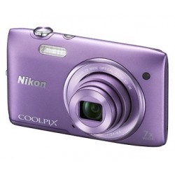 Nikon Coolpix S3500 violet
