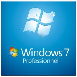 Microsoft Windows 7 Professionnel SP1 OEM 64 Bits
