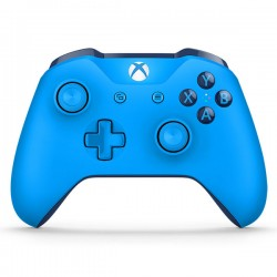 Microsoft Xbox One Wireless Controller (bleu)