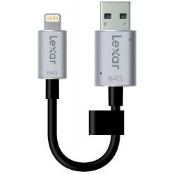 Lexar - LJDC20i-64 GoBEU - JumpDrive - C20i USB 3.0 64 Go