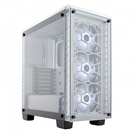 Corsair Crystal 460X RGB - Blanc