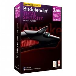 Bitdefender Total Security 2014 Multi-Device - Licence 2 ans 5 Utilisateurs - Appareils illimités