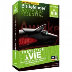 Bitdefender Antivirus Essential 2014 - Protection à vie - 1 Licence