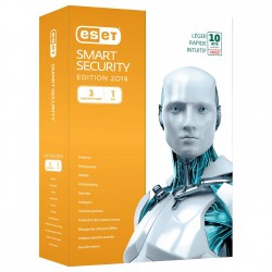 ESET Smart Security 7 - Licence 1 an 3 postes