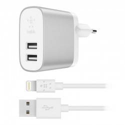 Belkin Chargeur Secteur Boost Charge USB-A + Câble Lightning / USB-A