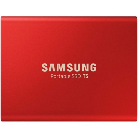 Samsung SSD Portable T5 500 Go rouge