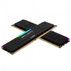 Ballistix Black RGB DDR4 32 Go (2 x 16 Go) 3200 MHz CL16